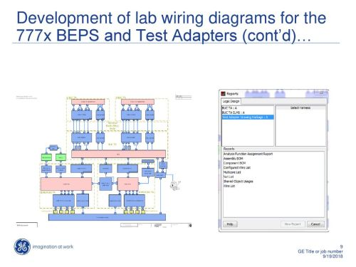 small resolution of development of lab wiring diagrams for the 777x beps and test adapters cont d