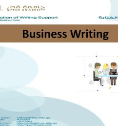 1 business writing writing for business [ 1024 x 768 Pixel ]