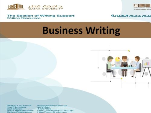 small resolution of 1 business writing writing for business
