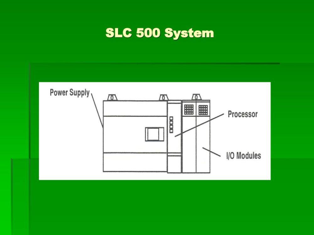 medium resolution of 4 slc 500 system