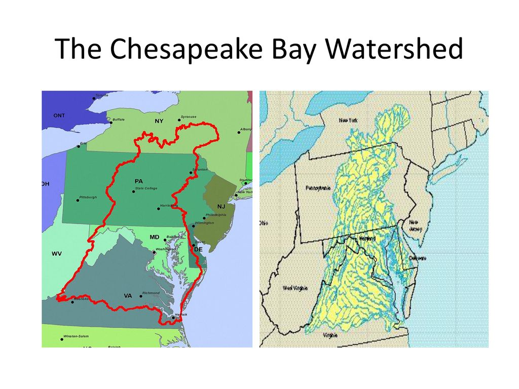 hight resolution of the chesapeake bay watershed