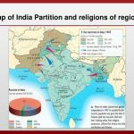 Map Of India Partition And Religions Of Region Ppt Download