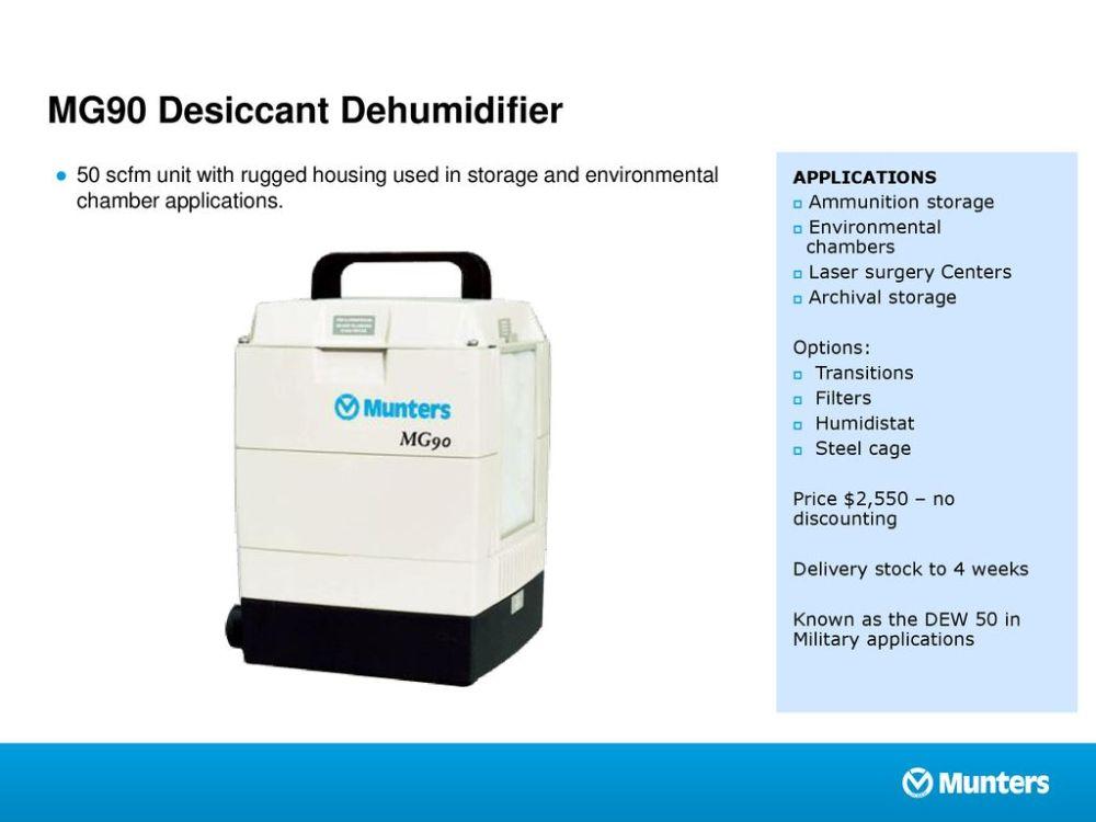 medium resolution of mg90 desiccant dehumidifier