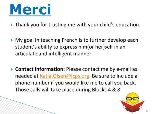small resolution of Welcome to Mme. Olsen's French 1 class Block 7 - ppt download