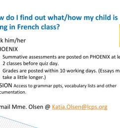 Welcome to Mme. Olsen's French 1 class Block 7 - ppt download [ 768 x 1024 Pixel ]