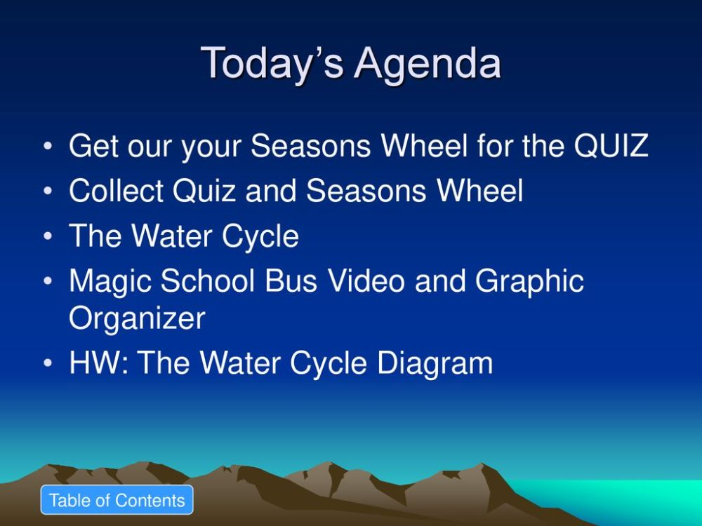 medium resolution of today s agenda get our your seasons wheel for the quiz