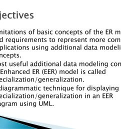 2 objectives limitations of basic concepts of the er model  [ 1024 x 768 Pixel ]