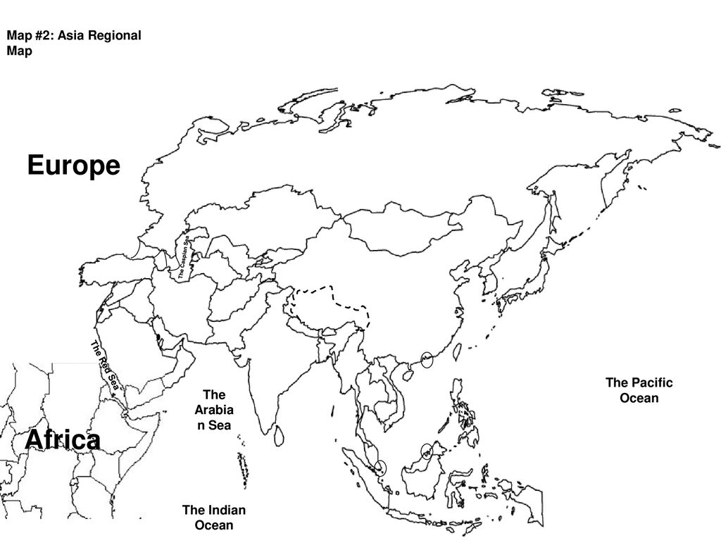 Europe Africa Map #1: Asia Map study guide Russia The