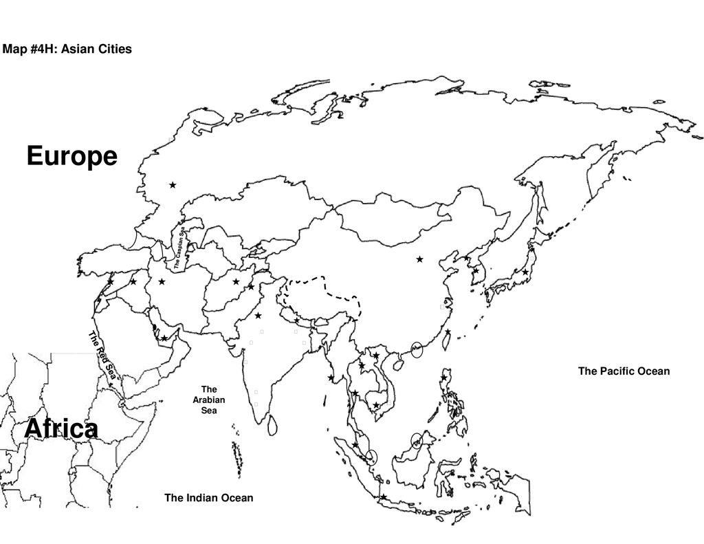 Europe Africa Map 1 Asia Map Study Guide Russia The
