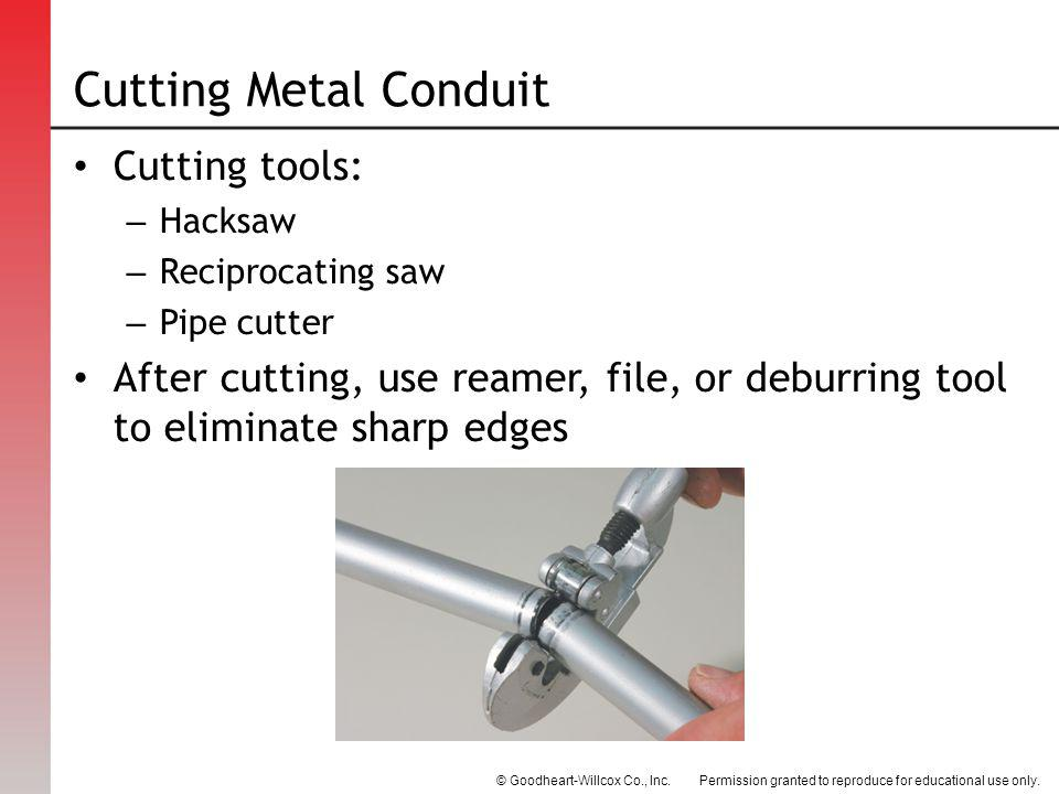 How To Cut Conduit With Hacksaw