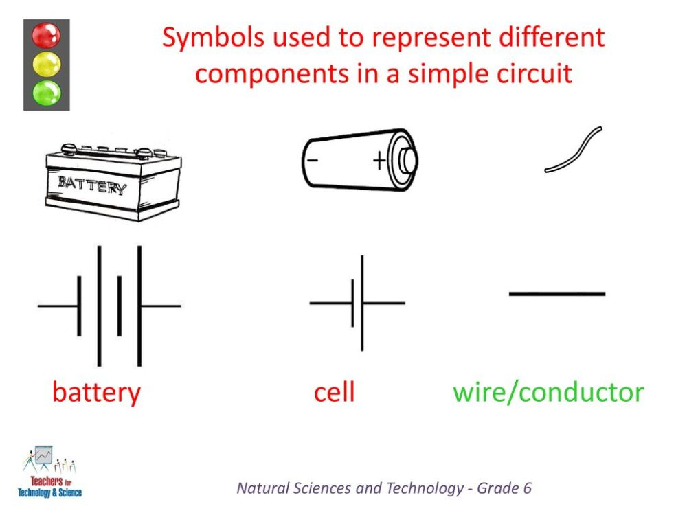 medium resolution of symbols used to represent different components in a simple circuit