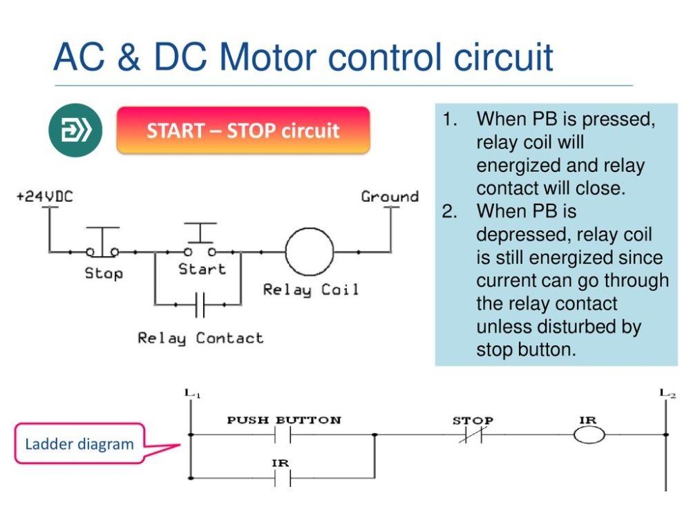 medium resolution of ladder diagram ac dc motor control circuit