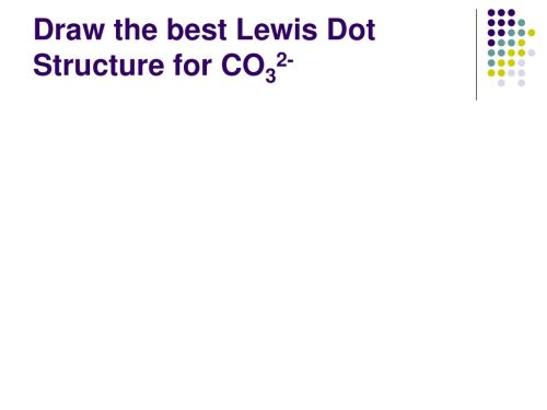 small resolution of 93 draw the best lewis dot structure for co32