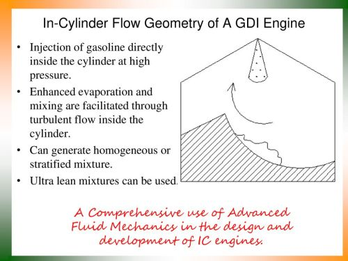 small resolution of in cylinder flow geometry of a gdi engine