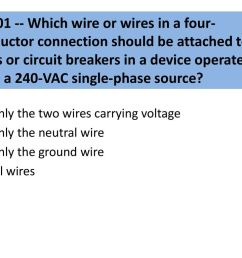 g0b01 which wire or wires in a four conductor connection should be attached [ 1024 x 768 Pixel ]