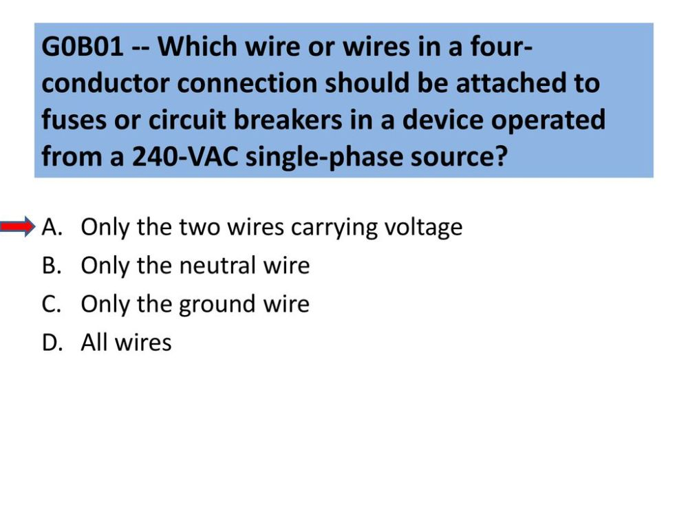 medium resolution of g0b01 which wire or wires in a four conductor connection should be attached