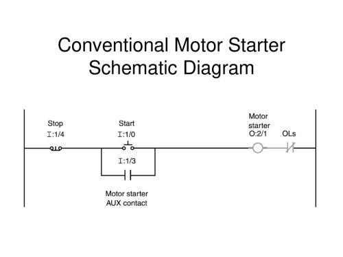 small resolution of 21 conventional motor starter schematic diagram