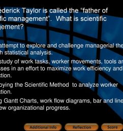 frederick taylor is called the father of scientific management [ 1024 x 768 Pixel ]