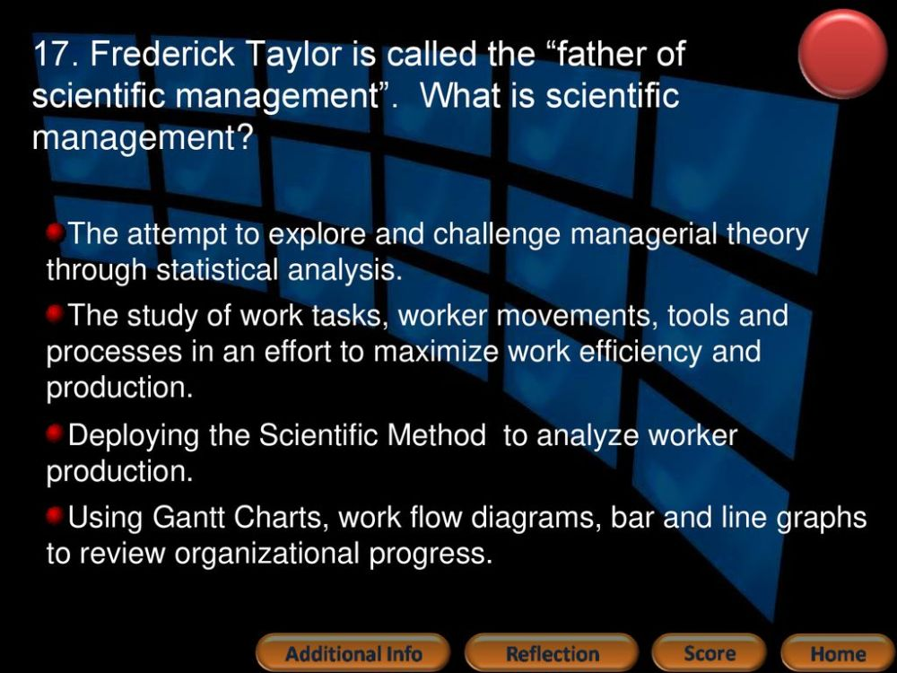 medium resolution of frederick taylor is called the father of scientific management