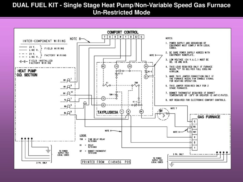 medium resolution of 16 dual fuel kit single stage
