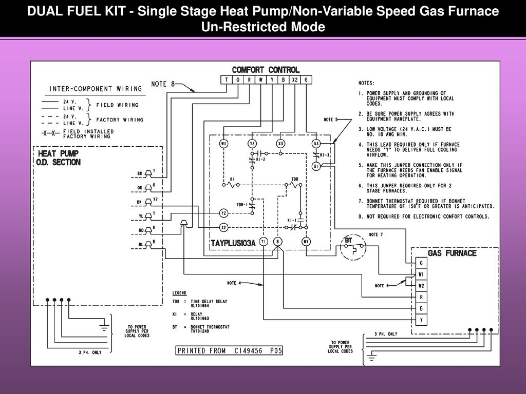 hight resolution of 16 dual fuel kit single stage