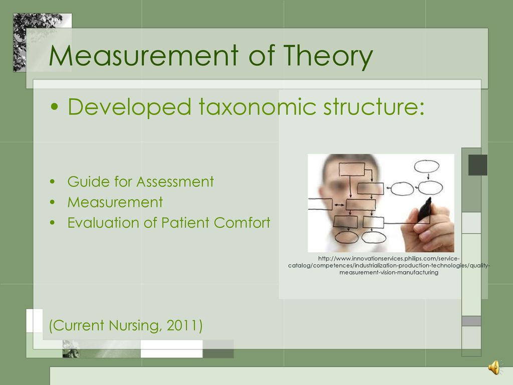 hight resolution of measurement of theory developed taxonomic structure