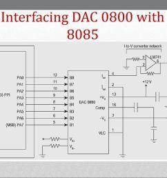 70 interfacing dac 0800  [ 1024 x 768 Pixel ]
