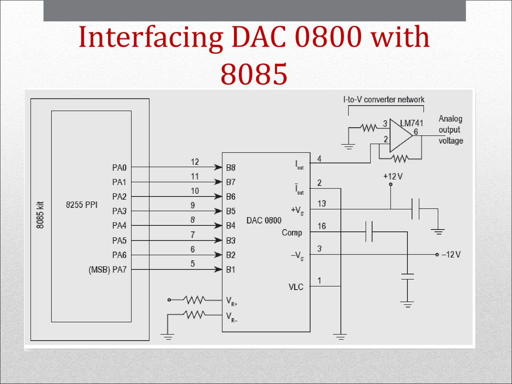 hight resolution of 70 interfacing dac 0800