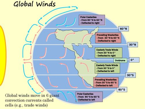 small resolution of global winds polar easterlies from 90 n to 60 n deflected to