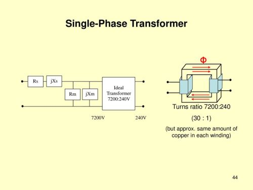small resolution of 44 single phase transformer