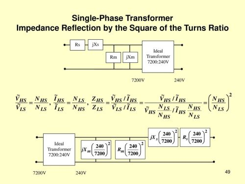 small resolution of 49 single phase transformer