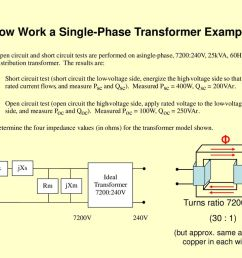 now work a single phase transformer example [ 1024 x 768 Pixel ]