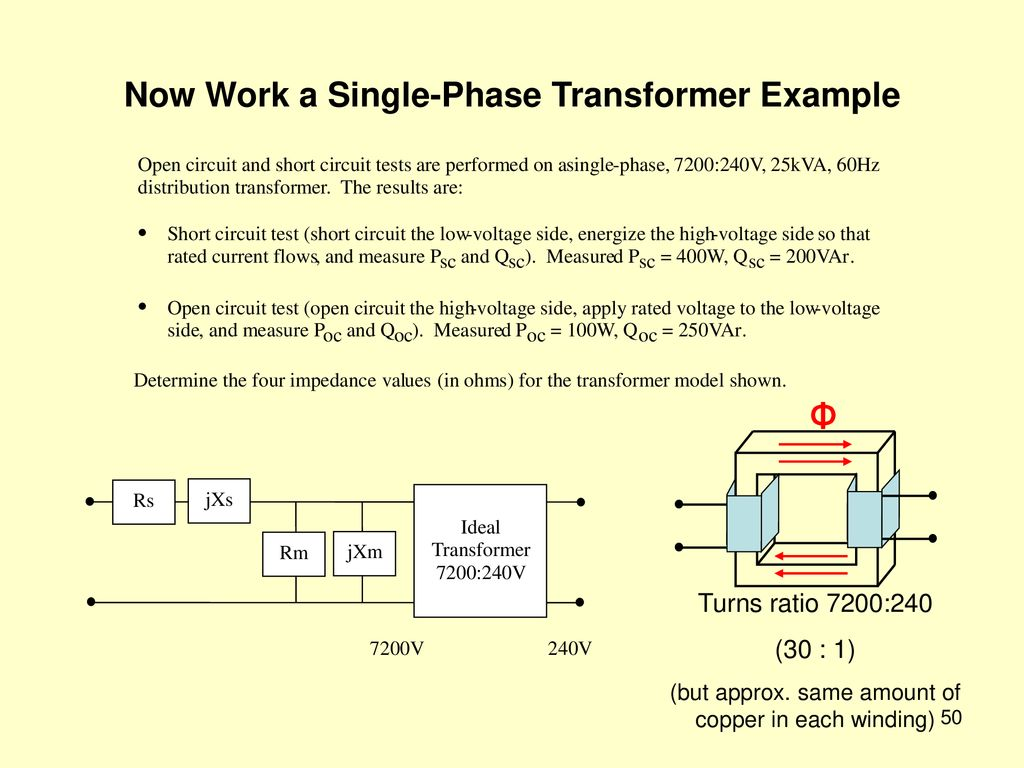 hight resolution of now work a single phase transformer example