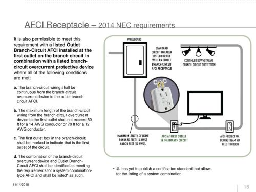 small resolution of afci receptacle 2014 nec requirements