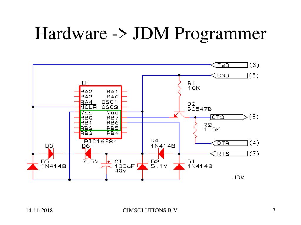 hight resolution of hardware jdm programmer