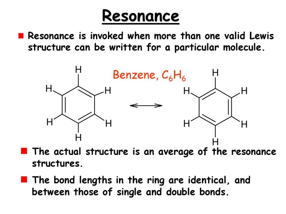 medium resolution of resonance resonance is invoked when more than one valid lewis structure can be written for a