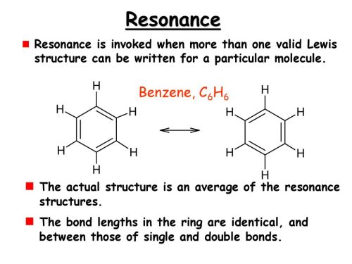 small resolution of resonance resonance is invoked when more than one valid lewis structure can be written for a