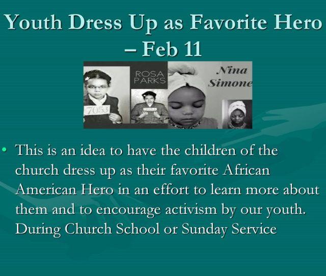 Youth Dress Up As Favorite Hero Feb 11