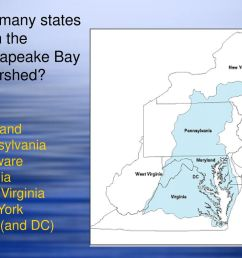 how many states are in the chesapeake bay watershed [ 1024 x 768 Pixel ]