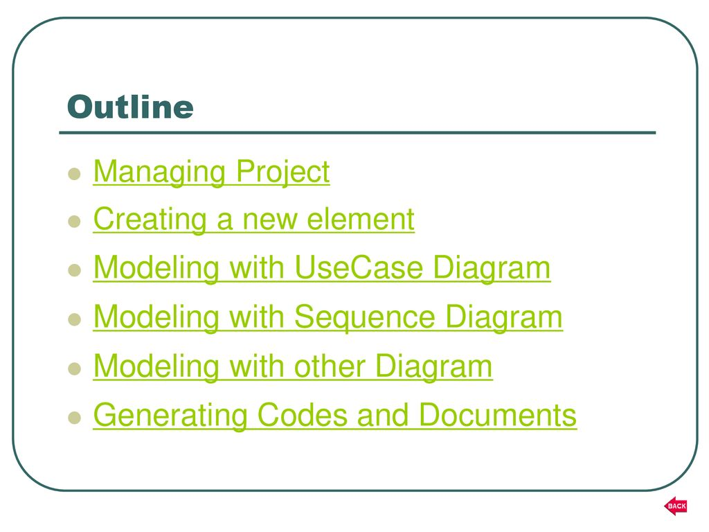 hight resolution of outline modeling with usecase diagram modeling with sequence diagram