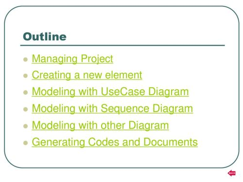 small resolution of outline modeling with usecase diagram modeling with sequence diagram