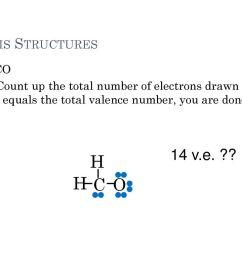 h h c o 14 v e lewis structures h2co [ 1024 x 768 Pixel ]