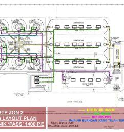 stp zon 2 piping layout plan politeknik pass 1400 p e [ 1024 x 768 Pixel ]