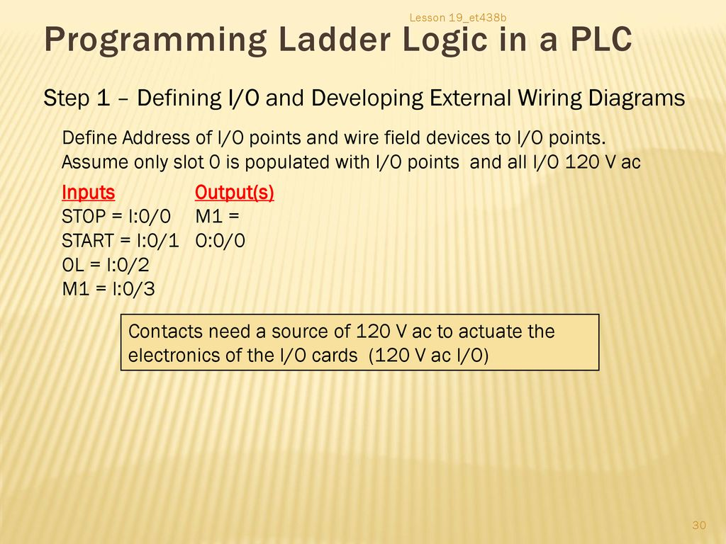 hight resolution of programming ladder logic in a plc