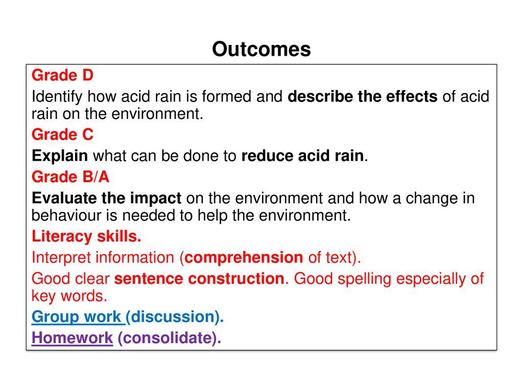 hight resolution of acid rain 2 outcomes