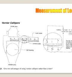 measurement of length vernier callipers [ 1024 x 768 Pixel ]