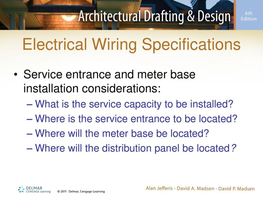medium resolution of electrical wiring specifications