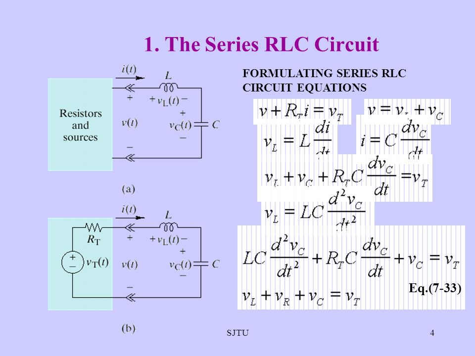 how to solve circuit diagrams email works explain with diagram series rlc differential equation - complete wiring