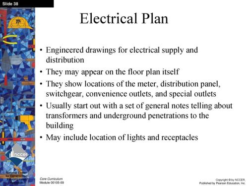 small resolution of electrical plan notes wiring diagramintroduction to construction drawings ppt download39 electrical plan engineered