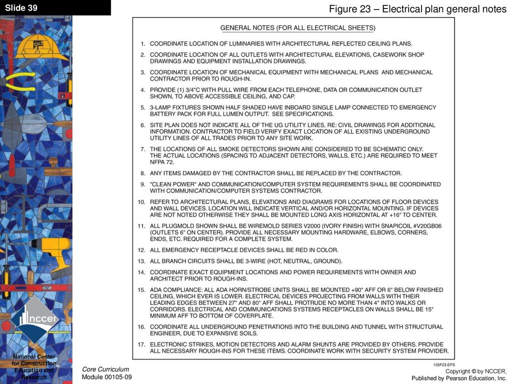 hight resolution of figure 23 electrical plan general notes